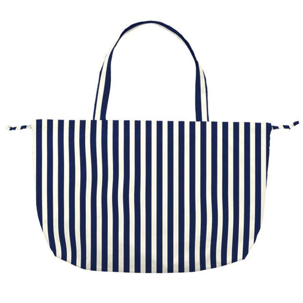 w.p.c Charm Ribbon Tote / Rain Bag in Deep blue