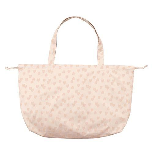 w.p.c Tote / Rain Bag in Fluffy heart pink