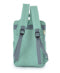 Anello Square Rucksack - Mint Green