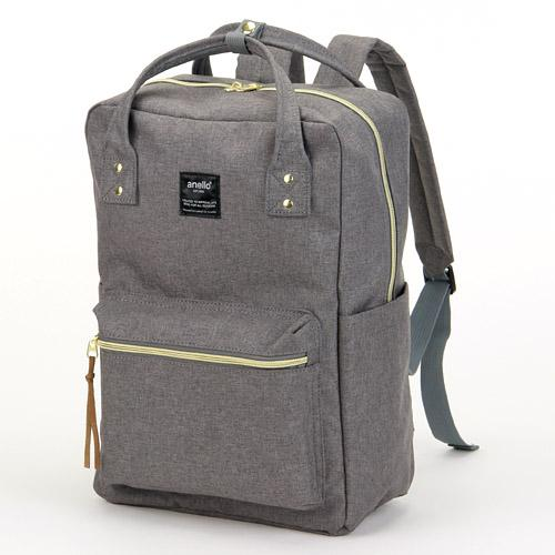ANELLO Japan Square Backpack - Grey AT-C1221