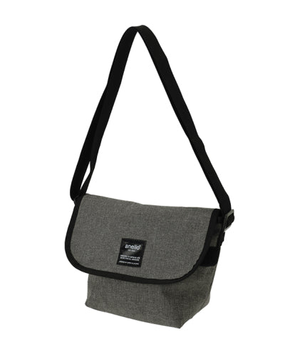 ANELLO Japan Heavyweight polyester canvas mini-mini messenger - Grey