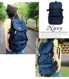 anello ®Japan RETRO OUTDOOR Backpack - Navy AH-B1901