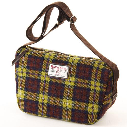 Harris Tweed Shoulder Bag - Canarya