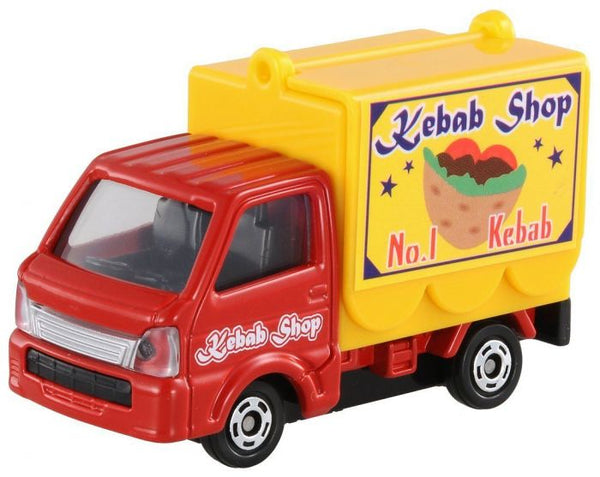 Tomica NO.57 SUZUKI CARRY MOBILE CATERING TRUCK