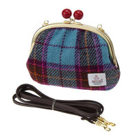 Japan made by Harris Tweed 2WAY pouch / clutch shoulder bag - Saxophone