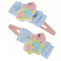 Kids Little Twin Stars Hair Clips 2pk