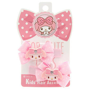 Kids 2 pack My Melody Hair Clips