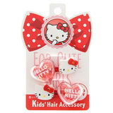 2 pack Hello Kitty Hair Ties - Red