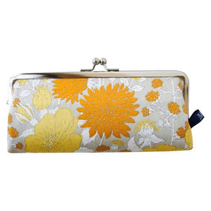 Glasses case - Yellow flower