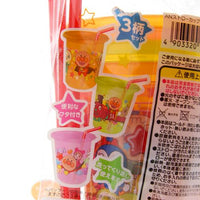 Anpanman Tumbler Set with Straw and Lid / Set of 3 KK-219