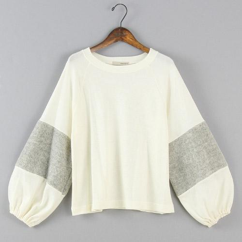 Soft Sleeve Top - White