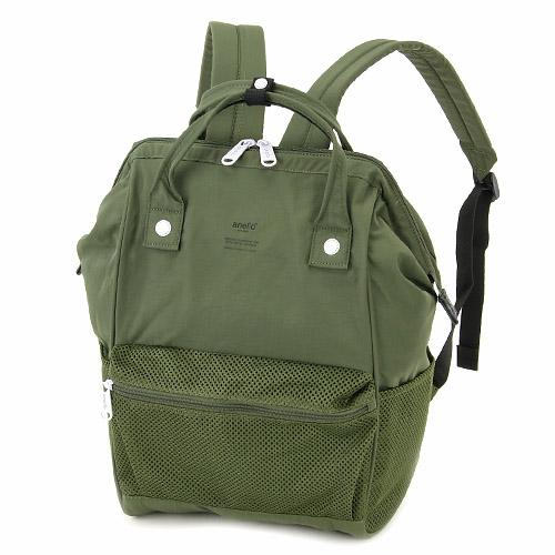 ANELLO Japan Mesh mouthpiece backpack Khaki