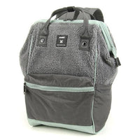 anello® Faux Fur Backpack Grey