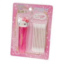 Hello Kitty Cotton Tips Case with Mirror