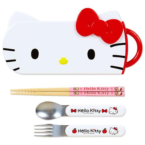 Hello Kitty Cutlery Set