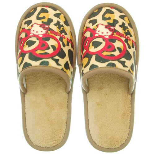 Hello Kitty Slippers - Leopard