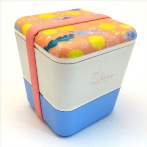 Double decker lunch box - Sky blue
