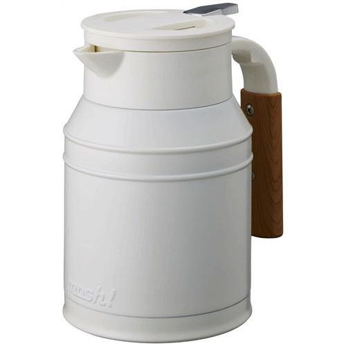 mosh! Japan Stainless Steel Pot 1L - White