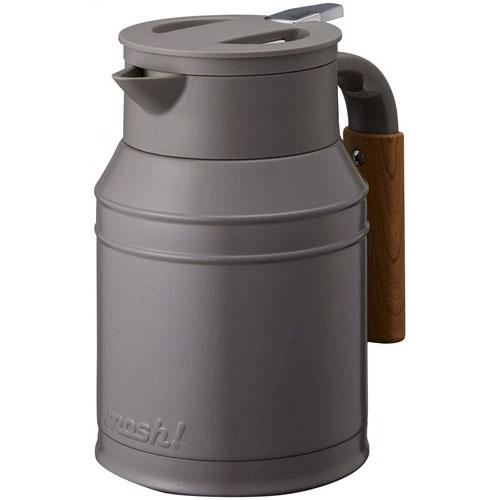 mosh! Japan Stainless Steel Pot 1L - Brown