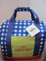 2pcs storage containers with Insulated picnic tote bag - Blue