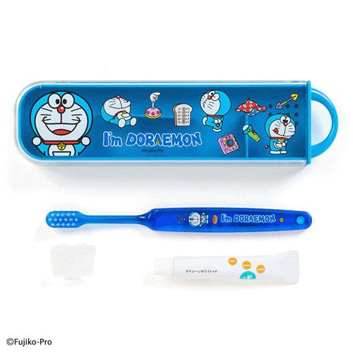 Doraemon Toothbrush and Toothpaste Set