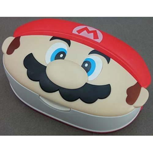 Super Mario case with wet tissue