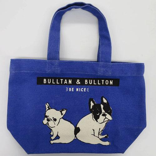 Bulltan & Bulton mini tote bag - Blue