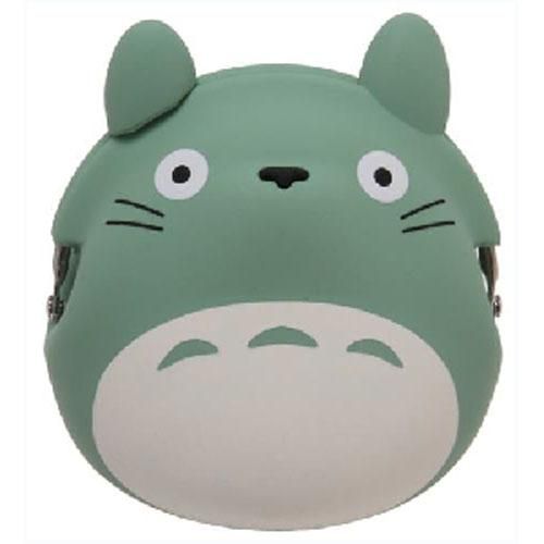 My Neighbor Totoro Silicone Coin Bag by 3D POCHI FRIENDS - Green