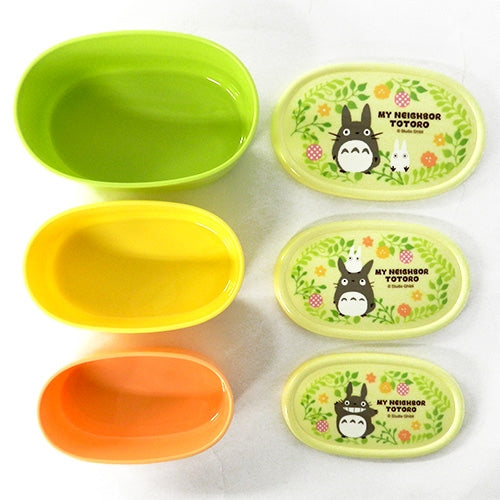 MY NEIGHBOR TOTORO Container set of 3 by SKATER SRS3S