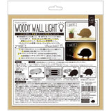 LED woody wall light - Hedgehog