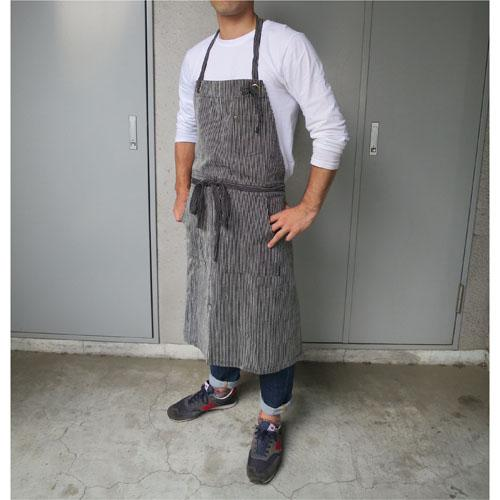 Apron - Navy blue