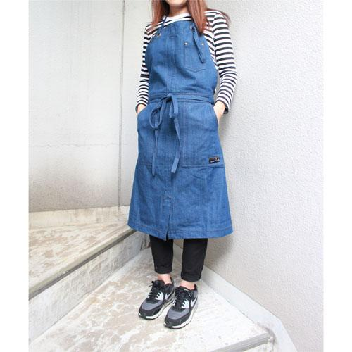Worker apron - Navy blue