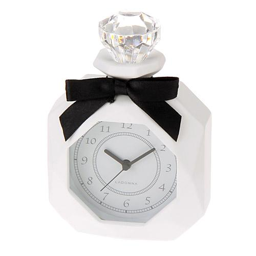 Table Clock - White Perfume