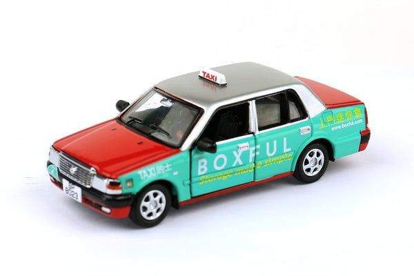 Tiny City 72 Die-cast Model Car – Toyota Crown Comfort Taxi (Boxful Version) 豐田皇冠Comfort的士(Boxful版)ATC64108