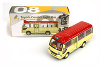 Tiny City 08 Toyota Coaster Red Light Bus (Kwun Tong) 豐田 Coaster 紅色小巴(官塘)