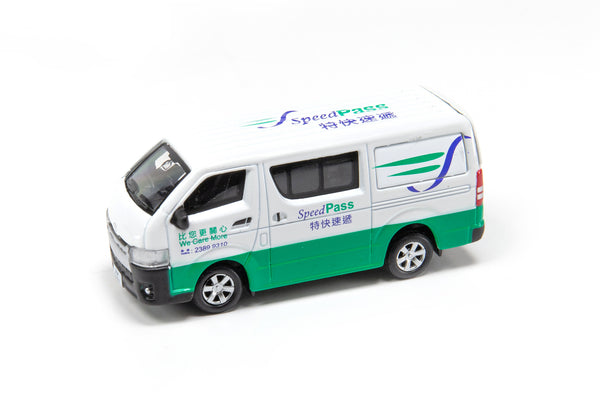 Tiny City 27 – Toyota Hiace Post Office 豐田 Hiace 特快速遞 AM2657