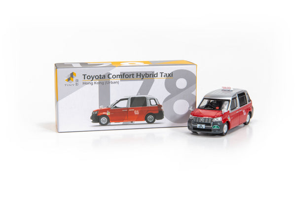 Tiny City 178 Die-cast Model Car – Toyota Comfort Hybrid Taxi 豐田混合動力的士 ATC64359
