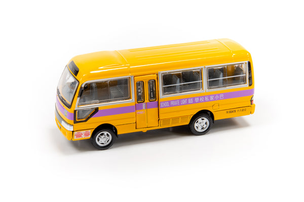 Tiny City 13 – Toyota Coaster School Bus 豐田Coaster 校巴(NR7732)