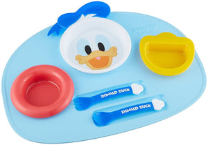 Donald Duck Lunch Plate Set