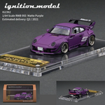Ignition Model 1/64 HIGH-END RESIN MODEL RWB 993 Matte Purple IG2362