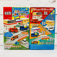 F-Toys Confect. Tomica Assembly Town 4 Complete Set of 4