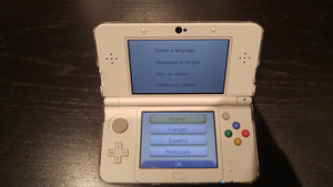 NINTENDO 3DS Console Super Mario 3D Land Edition (USED) + 4 Games and accessories