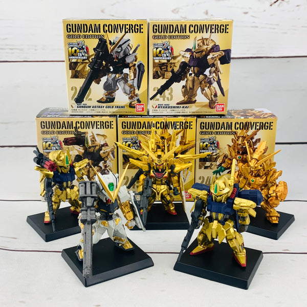 FUSION WORKS Gundam Converge GOLD EDITION Complete set of 5