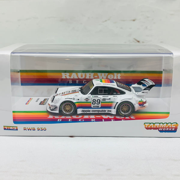 Tarmac Works 1/43 RWB 930 White Apple #89 Austria