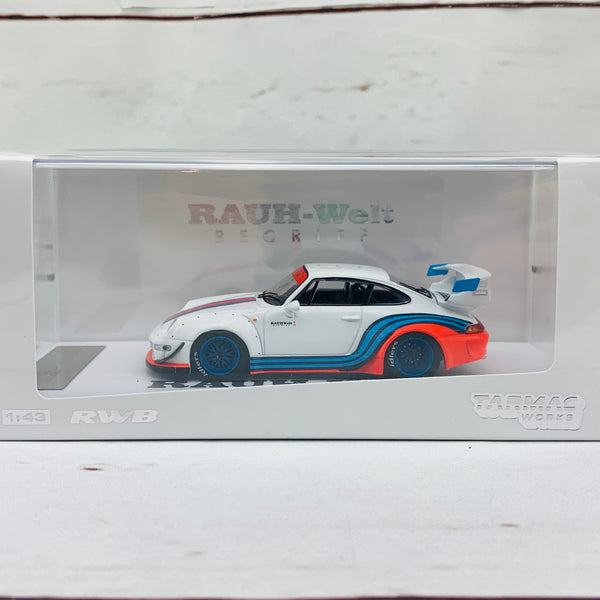 Tarmac Works 1/43 RWB 993 Martini *** Asia Special Edition - Limited to 480pcs *** T43-014-MAW