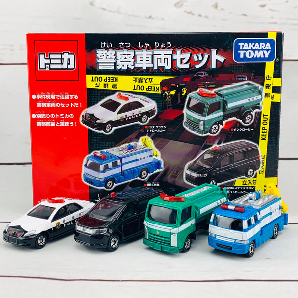 Tomica Police Vehicle Set