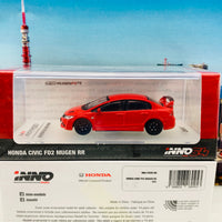 INNO64 1/64 HONDA CIVIC FD2 MUGEN RR Red IN64-FD2R-RR