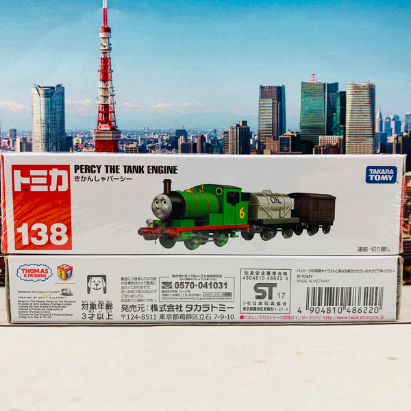 TOMICA 138 Percy The Tank Engine