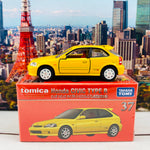 Tomica Premium 37 Honda Civic Type R YELLOW (Tomica Premium Anniversary Version)