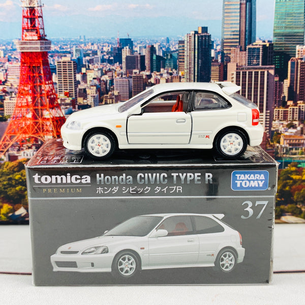 Tomica Premium 37 Honda Civic Type R WHITE